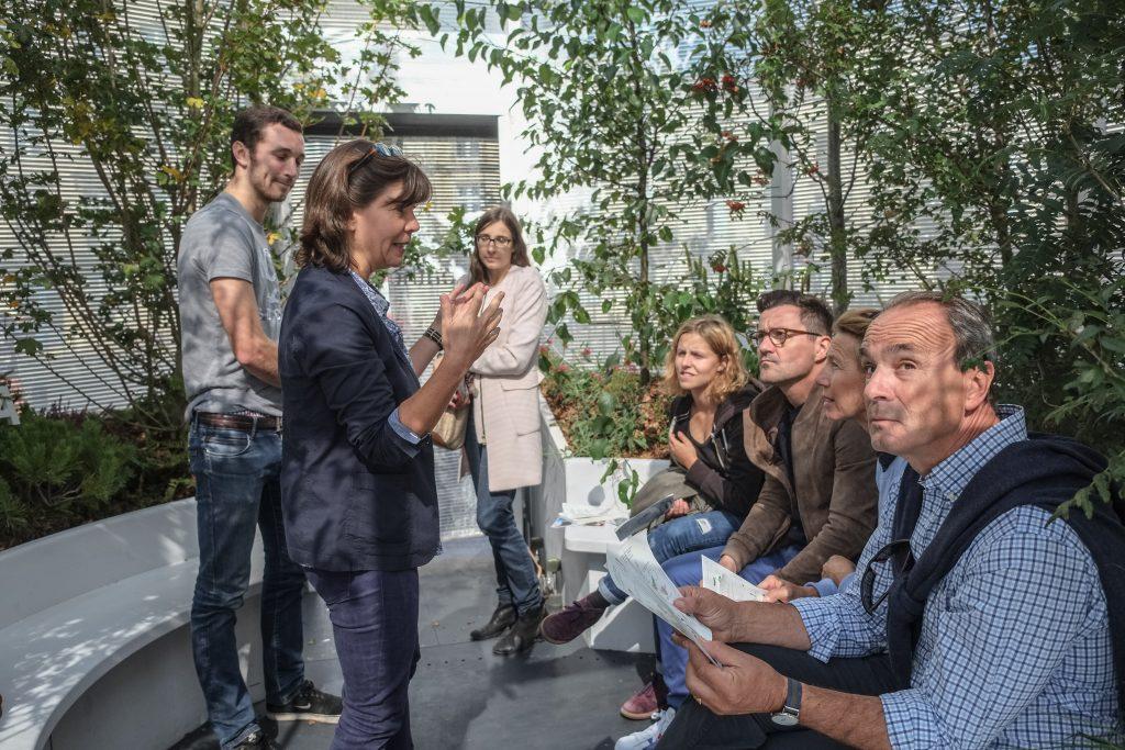Mobiler Kulturwald auf der Biennale in Bordeaux, Copyright: ÖW/ Pierre Planchenault
