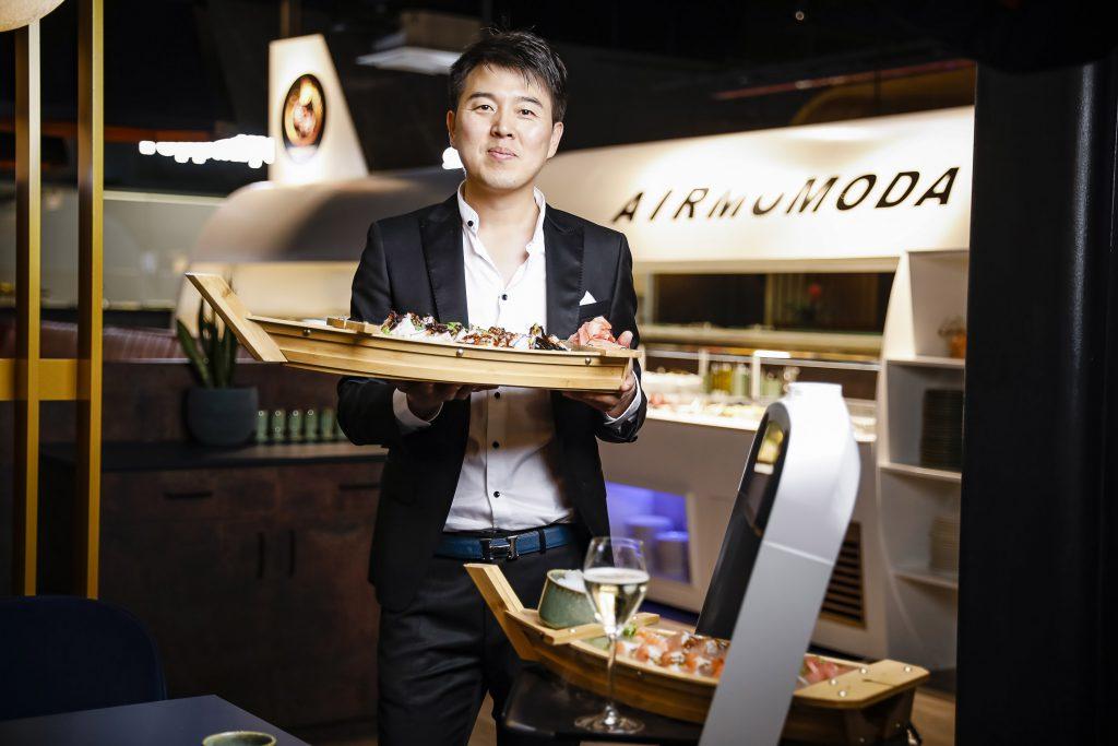 Thomas Liu im Momoda Fotos: Luef Light